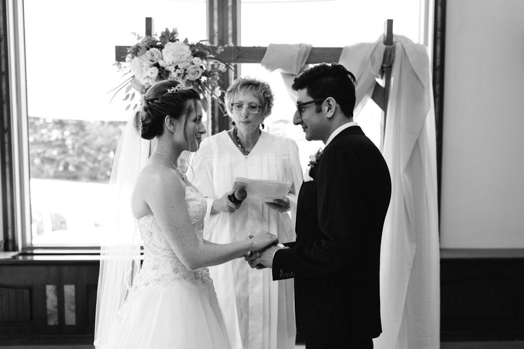 Wedding at Auberge Lac-à-l'Eau-Claire, Quebec