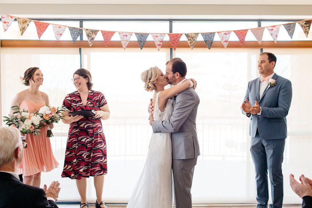 Intimate Shoalwater Bay wedding