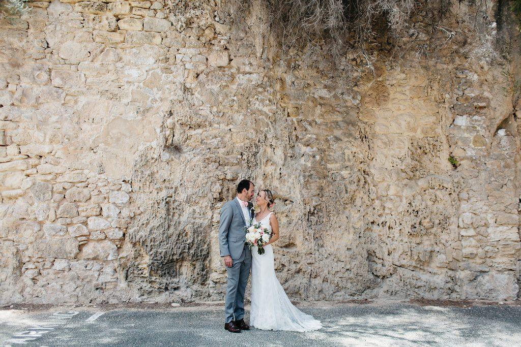Intimate beachside wedding, Fremantle