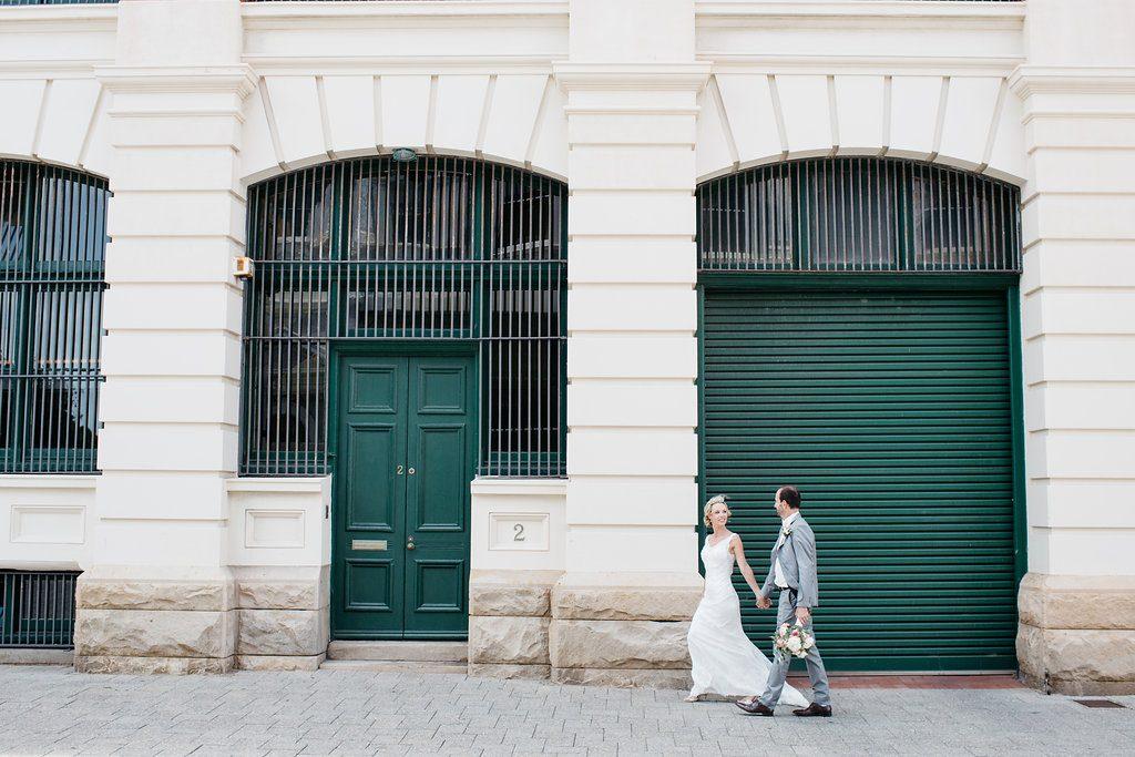 bride and groom, Fremantle wedding