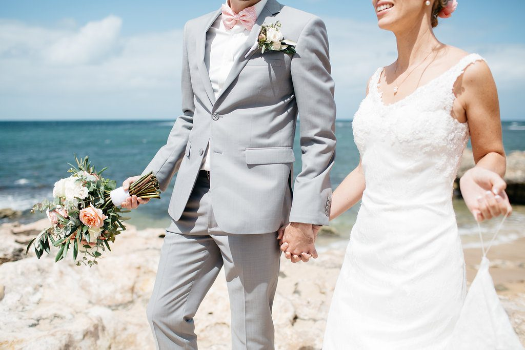 Intimate beachside wedding, Perth