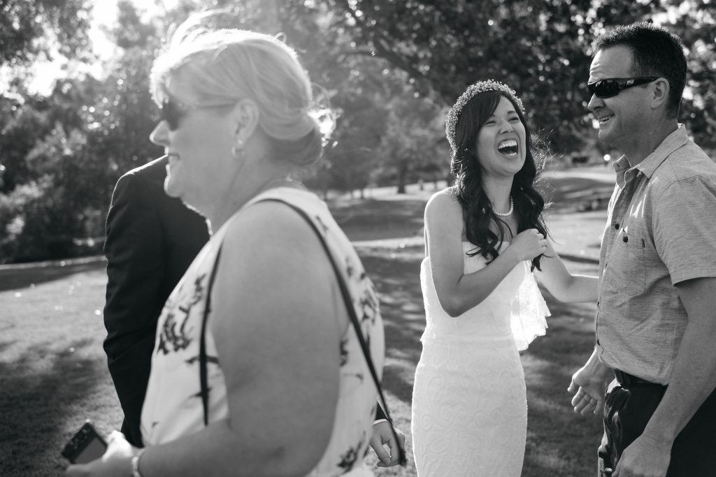 Laughter, Perth Kings Park Wedding