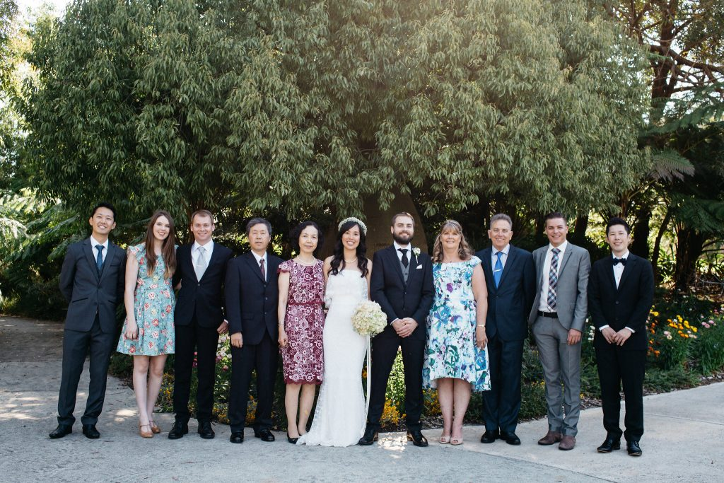 Family photo, Perth Kings Park Wedding