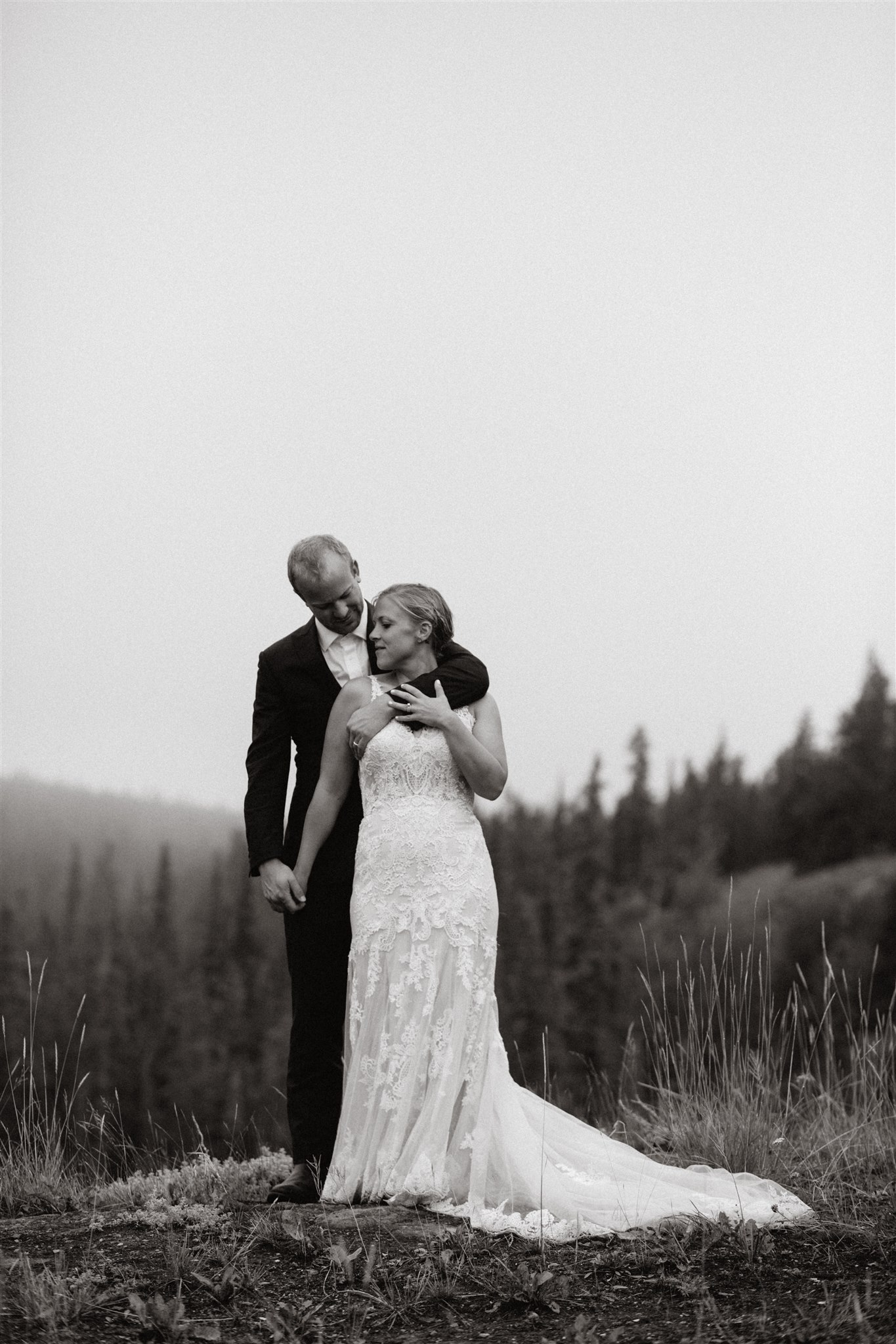 Nicole and Alan's adventure wedding in Whitehorse, Yukon