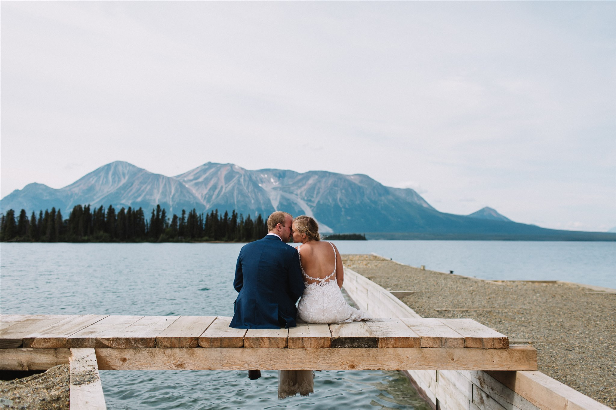 Wedding photography, Atlin, British Columbia