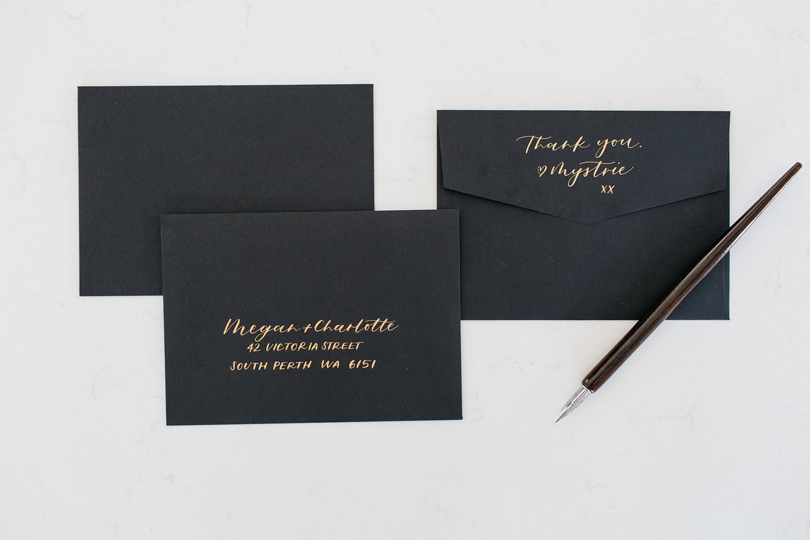 Calligraphy personal branding photoshoot by Montreal photographer.