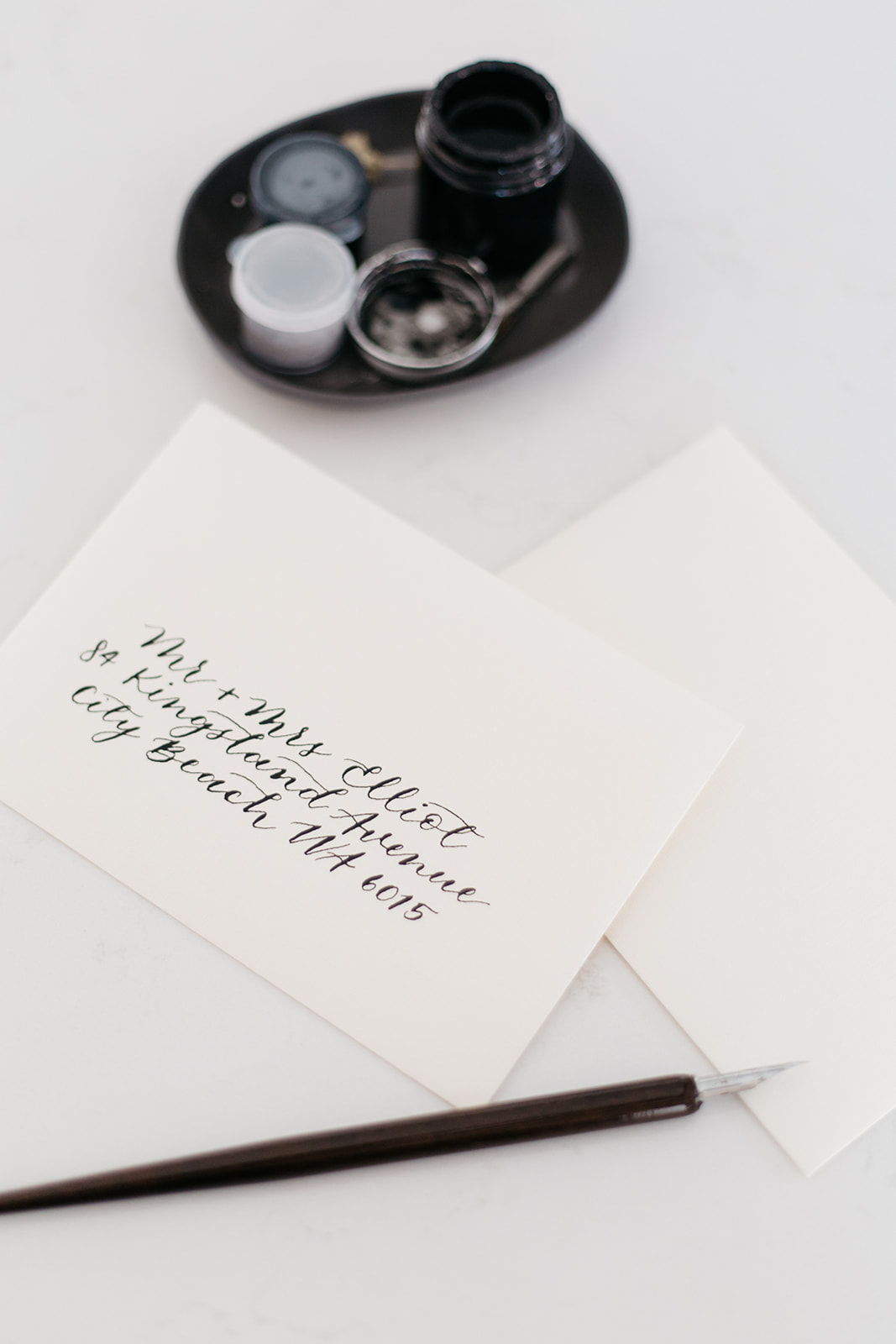 Photo of calligraphy taken by Montreal photographer.